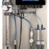 Online water monitoring NTU/FTU, NO3, TOC, DOC, pH, EC, Temp, Alarms (2 free sensorspaces),