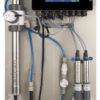 Online water monitoring NTU/FTU (est), NO3, NO2, TOC, DOC, pH, EC, 2 disinfection
